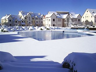 Ifrane - Ifrane in winter