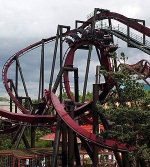 Nemesis (roller coaster) - Nemesis Inferno at Thorpe Park