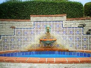 Adamson House - Neptune Fountain