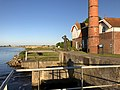 Netherlands, Echten, historic pumping station and Tjeukemeer.jpg