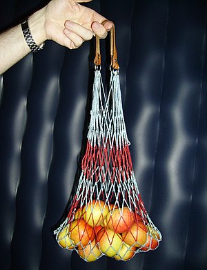 String bag - An East German Einkaufsnetz