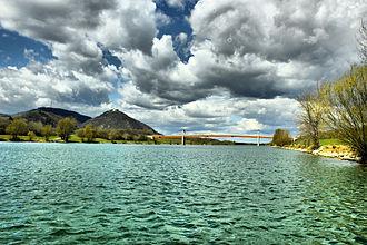 New Danube - New Danube near the Langenzerdorf