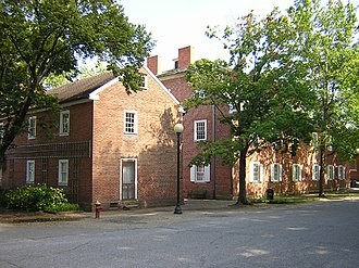 Harmony Society - Harmony Society buildings in New Harmony, Indiana.