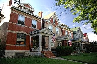 Newport, Kentucky - East Row Historic District, Newport, Kentucky