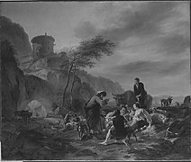 Nicolaes Berchem - Laban verteilt Arbeit - 440 - Bavarian State Painting Collections.jpg