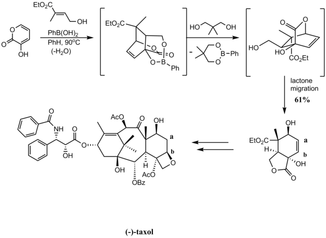 Nicolaou Taxol synthesis.png