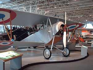 Nieuport 12 - Nieuport 12 at the Canada Aviation and Space Museum.