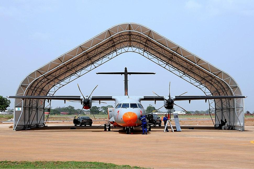 Nigerian Air Force ATR ATR-42-500MP Surveyor Iwelumo-1