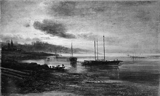 Night Scene on the Volga