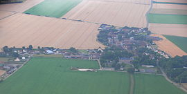 An aerial view of Nivillers