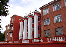 Nizhny Novgorod State Technical University (Main Building) - Wikimapia.