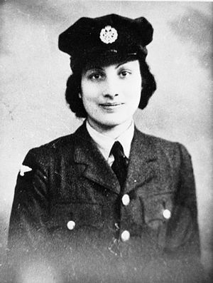 Women's Auxiliary Air Force - Image: Noor Inayat Khan