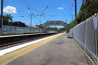 Norman Park railway station - Image: Norman Park 2016