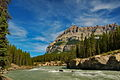 North Saskatchewan River with Peak and Sky -a.jpg