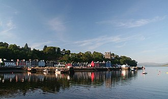 Balamory - Tobermory, Mull, the setting for the fictional town of Balamory