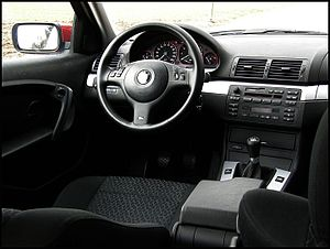 BMW 3 Series (E46) - 316ti interior