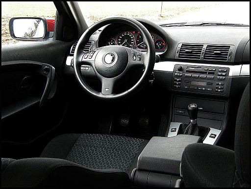 Notranjost BMW E46 316ti