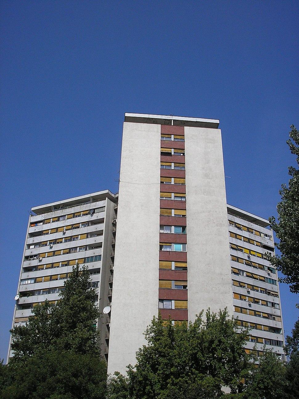 Novi Beograd - Block 38 south