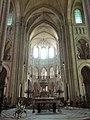 Noyon (60), cathédrale Notre-Dame, croisée du transept, vue vers l'est 1.jpg
