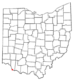 Location of Neville, Ohio