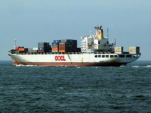 OOCL fortune p2, leaving Port of Rotterdam, Holland 15-Jul-2005.jpg