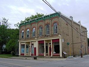 Oil Springs, Ontario - Odd Fellows Ridgely Lodge