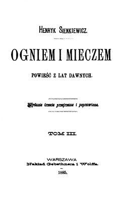 Ogniem I Mieczem (1885) (title page).jpg