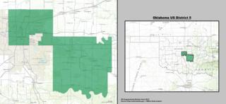 Oklahomas 5th congressional district U.S. House district in Oklahoma City, Oklahoma