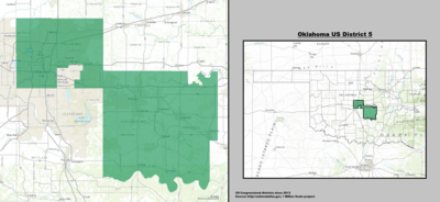 Oklahoma's 5th congressional district - since January 3, 2013.