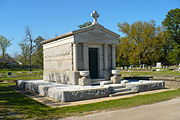 The McDonnell Mausoleum.