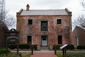 National Register of Historic Places listings in Currituck County, North Carolina - Image: Old Currituck jail Stierch