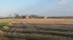 Grand Village of the Illinois - Image: Old Kaskaskia Village from W