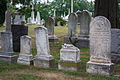 Old graves section O - Glenwood Cemetery - 2014-09-14.jpg