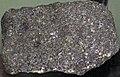 Olivine gabbro (Pigeon Point Sill, Mesoproterozoic, ~1.1 Ga; Pigeon Point, Minnesota, USA) (40770721514).jpg