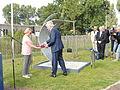 Onthulling missing man memorial Air Crash Museum 40-45 op 13 september 2014 in Rijsenhout 06.JPG