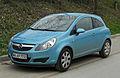 Opel Corsa Edition 111 Jahre (D) – Frontansicht, 5. April 2011, Wülfrath.jpg