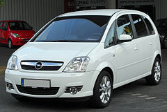 Opel Meriva A po face liftingu