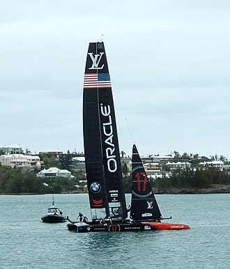2017 America's Cup - The defending yacht 17