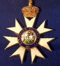 Order of Saint Michael and Saint George grand cross badge (United Kingdom 1870-1900) - Tallinn Museum of Orders.jpg