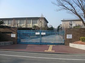 Osaka-Prefectual Hirakata-nagisa high school 001.JPG