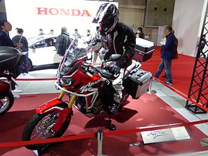 Honda Africa Twin - Also at Osaka
