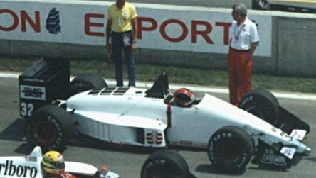 Oscar Larrauri 1988 Canada