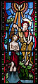Our Lady's Island Church of the Assumption East Aisle South Window Baptism of Christ Right Part 2010 09 26.jpg