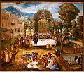 Outdoor Banquet by Hans Mielich, Germany, 1548, oil on panel - Wadsworth Atheneum - Hartford, CT - DSC05017.jpg