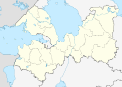Gatchina is located in Leningrad Oblast
