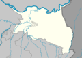Outline map of Gudermessky District on the map of Chechnya.png