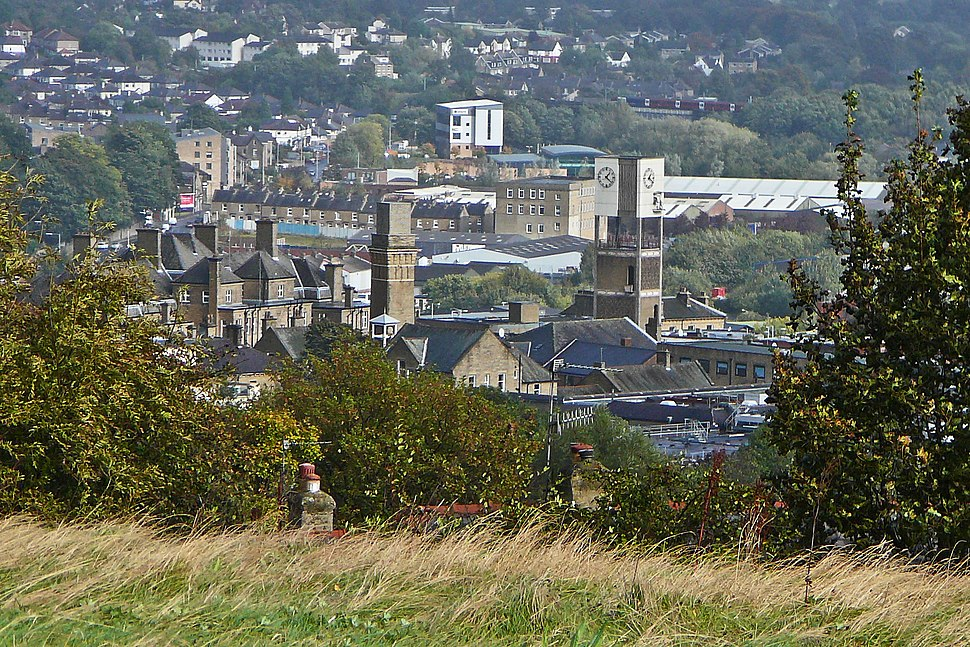 Overview of Shipley, West Yorkshire