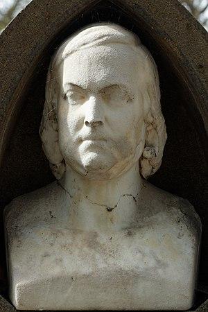 Émile Souvestre - Bust of Émile Souvestre