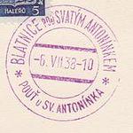 Příležitostné razítko pof. PR7, 06.07.1938.jpg