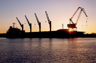 Port Arthur, Texas - Big Arthur crane